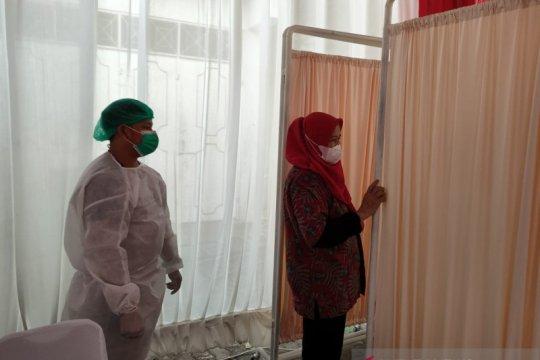 Polsek Sawah Besar sediakan bilik untuk peserta vaksinasi berhijab
