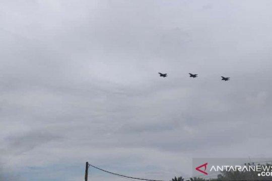 TNI AU kerahkan 14 pesawat tempur dalam latihan Jalak Sakti 2021