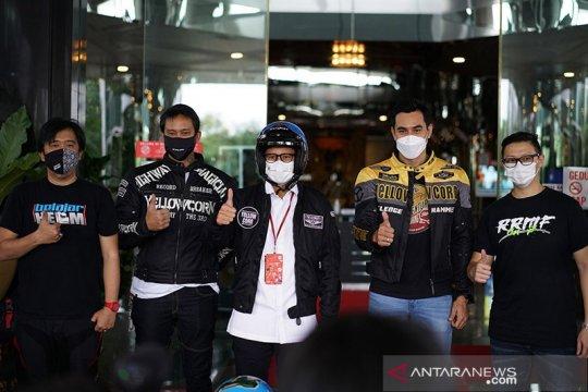 Sandiaga Uno ajak komunitas motor hidupkan pariwisata Indonesia