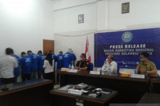 BNNP Sulut- Bea Cukai ungkap jaringan narkotika