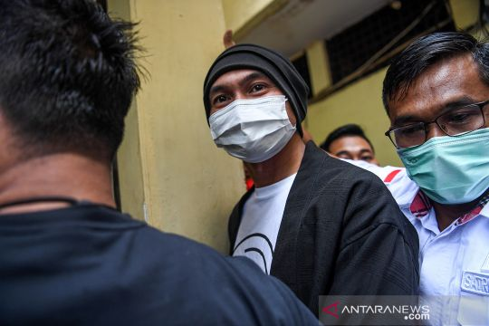 Anji ditangkap terkait dugaan kasus kepemilikan narkoba