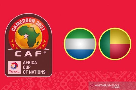 Kualifikasi Piala Afrika Sierra Leone vs Benin ditunda karena COVID-19
