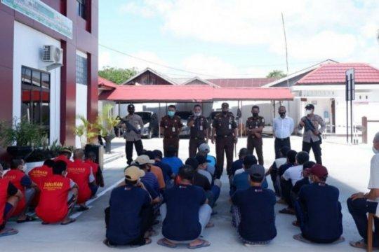 "Kejari Natuna eksekusi 23 terpidana ""illegal fishing"" KIA Vietnam"