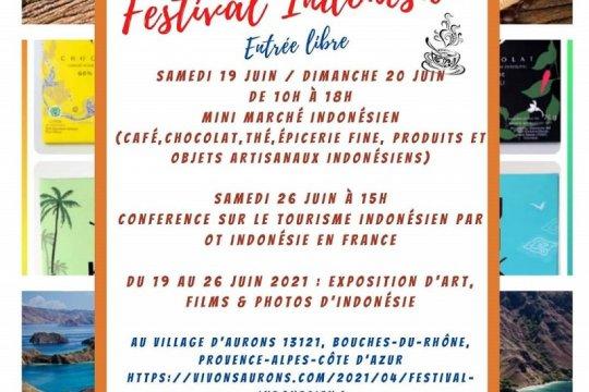 KJRI selenggarakan Festival Indonesia di Aurons Prancis 19--26 Juni