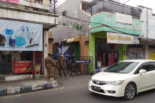 """Di Kota Mojokerto-Jatim, satu lingkungan di """"lockdown"""" akibat COVID-19"""