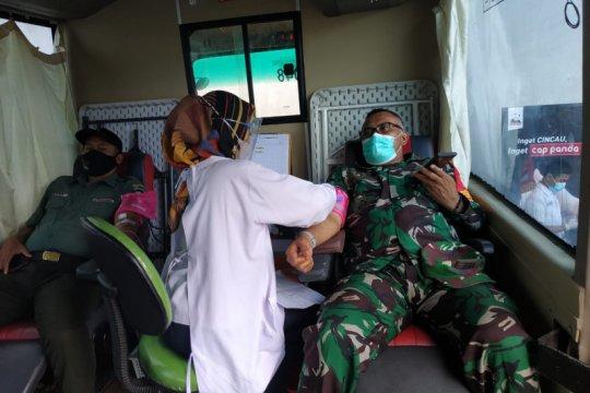 Kodim 0510/Tigaraksa targetkan 10.000 pendonor darah saat TMMD ke-111
