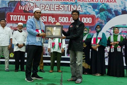 Masyarakat Malut donasikan Rp500 juta untuk Palestina