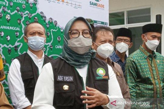 5.000 dosis untuk vaksinasi COVID-19 massal di Stadion Pakansari