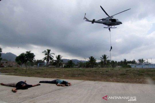 Pembebasan sandera oleh pasukan elit Indonesia-Amerika
