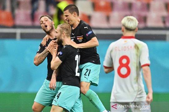 UEFA investigasi selebrasi gol Arnautovic saat lawan Makedonia Utara