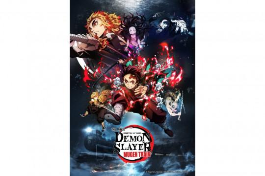 """""""Demon Slayer The Movie"""" akan tayang daring mulai besok"""