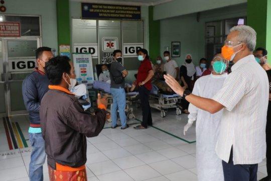 Ganjar mendapati pasien tidak terlayani saat inspeksi rumah sakit