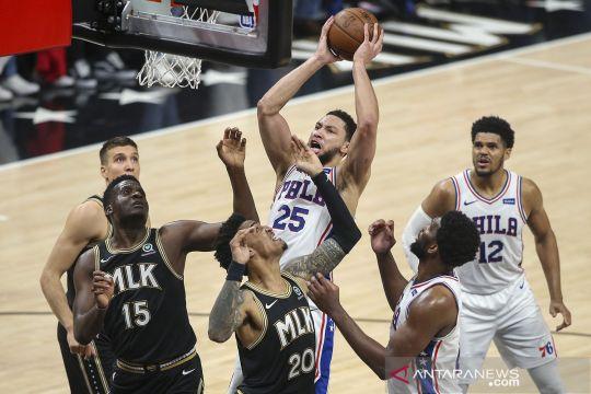 NBA Playoffs 2021: Atlanta Hawks kalahkan Philadelphia 76ers