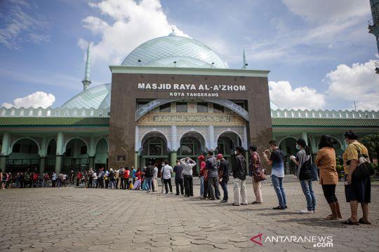 Vaksinasi massal COVID-19 di Kota Tangerang