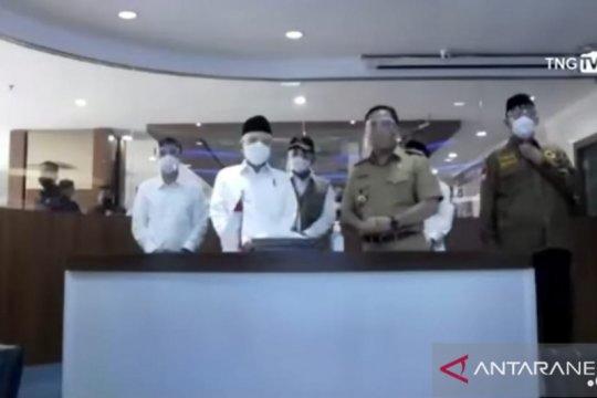 Dihadiri Wapres, Pemkot Tangerang gelar vaksinasi serentak di 40 titik