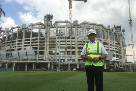Stadion megah di Jakarta itu bernama JIS