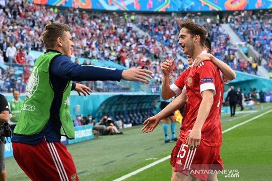 Miranchuk bilang golnya tidak lebih penting dari tiga poin bagi Rusia