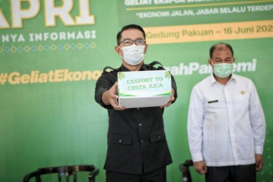 Ridwan Kamil lepas ekspor 23 ton kelapa parut kering ke Kosta Rika