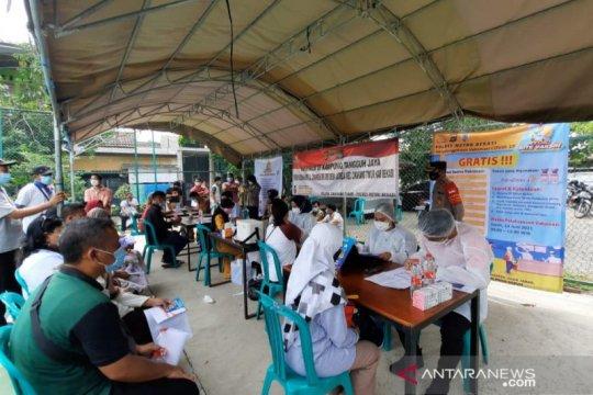 138.831 warga Bekasi telah divaksin COVID-19