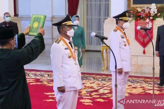 Presiden Jokowi beri tugas penanganan COVID-19 ke gubernur Sulteng