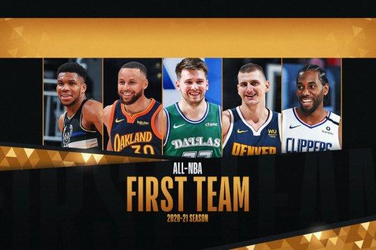 Jokic, Antetokounmpo, Curry pimpin All-NBA First Team 2020-21