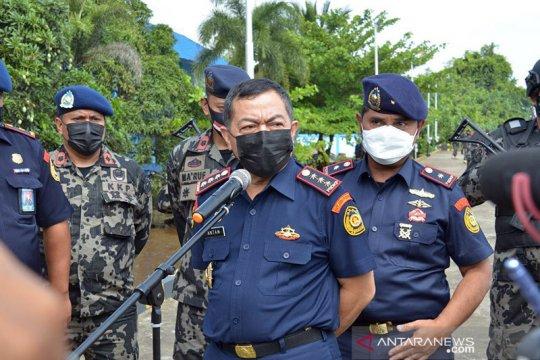 KKP tangkap kapal berbendera RI di Selat Makassar