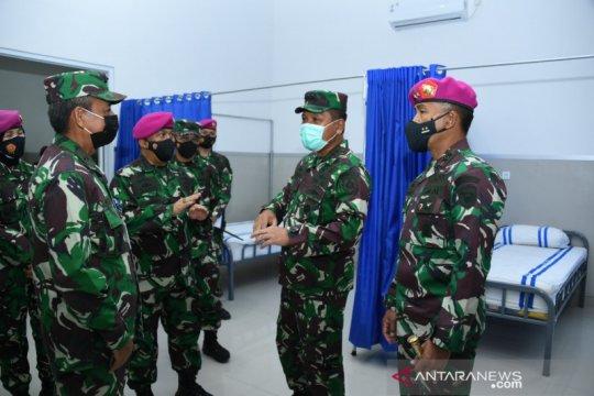 TNI AL siapkan gedung isolasi mandiri antisipasi lonjakan COVID-19