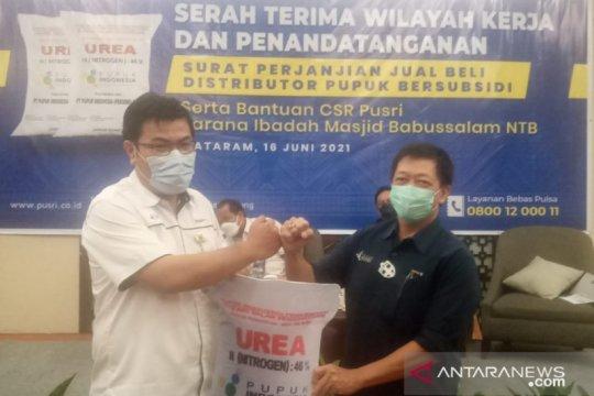 Pusri Palembang dapat amanah distribusikan pupuk bersubsidi di NTB