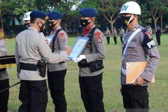 Dua polisi dipecat tidak hormat di Kalimantan Selatan