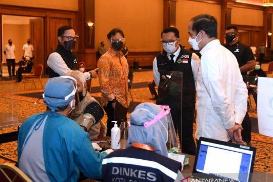 Presiden Jokowi dijadwalkan tinjau vaksinasi di Stasiun Bogor