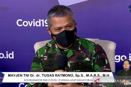 RS Darurat COVID-19 Wisma Atlet tambah 1.400 tempat tidur