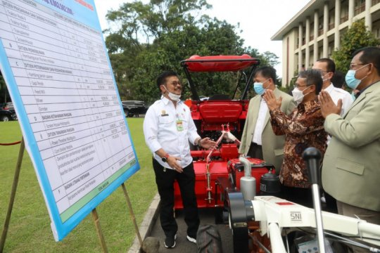 Kementan beri bantuan program pengembangan pertanian ke UGM