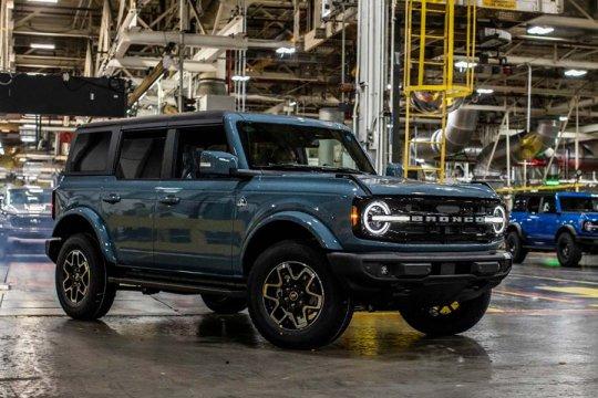 Ford mulai kirim Bronco ke pemesan
