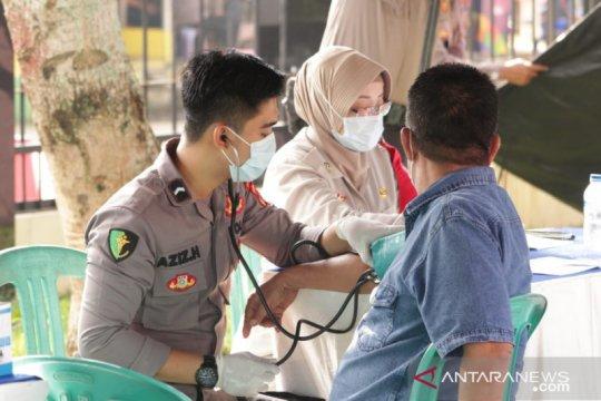 Polres Pandeglang adakan vaksinasi bagi masyarakat