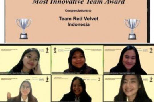 """Tim red velvet FEB UI raih """"The Best Innovative Team"""""""