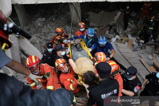 Ledakan pipa gas di Shiyan China