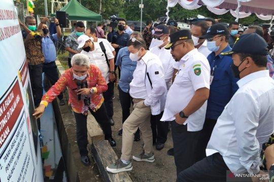 Kepala Bappenas dan Menteri KP tinjau lokasi Ambon New Port