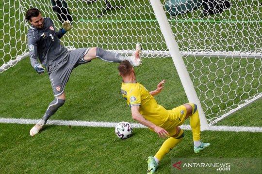 Ukraina taklukkan Makedonia Utara 2-1