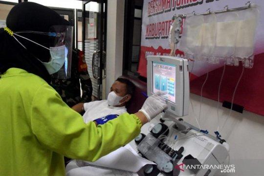 61 pasien COVID-19 Bekasi belum terlayani bantuan plasma konvalesen