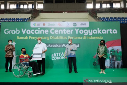 Grab luncurkan pusat vaksinasi ramah penyandang disabilitas di Yogya