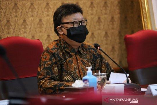 Menteri Tjahjo imbau ASN proaktif percepat penanganan pandemi