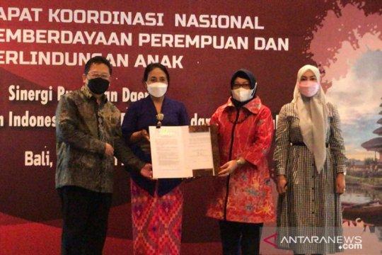 """Rakornas PPPA hasilkan """"Komitmen Bali"""" menuju sinergi pusat-daerah"""