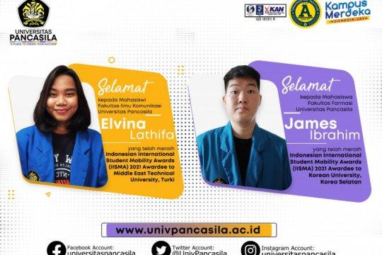 Dua mahasiswa Universitas Pancasila peroleh beasiswa IISMA 2021