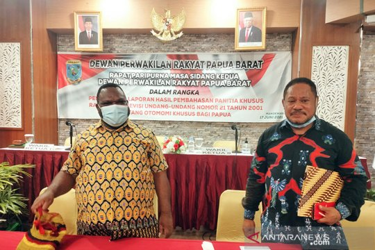 Pansus DPRP Papua Barat mengajukan 14 poin revisi UU Otsus Papua