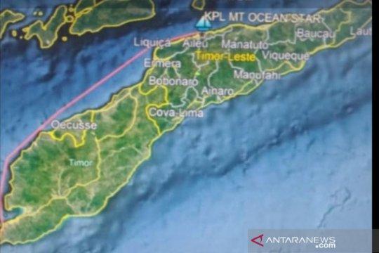 Bakamla RI siap mengevakuasi ABK MT Ocean Star di perairan Timor Leste