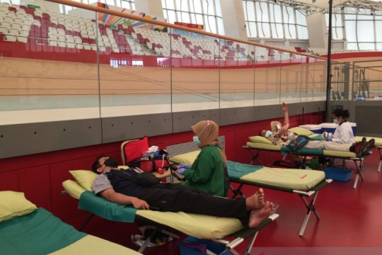 Jakpro gelar donor darah bersama karyawan
