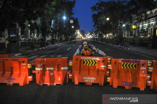 Sejumlah ruas jalan di Kota Bandung ditutup selama 14 hari