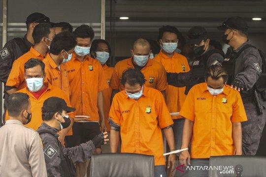 Polda Metro Jaya tangkap puluhan preman yang melakukan pungutan liar