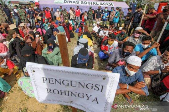 Satgas pindahkan 12 imigran Rohingya dari Lhokseumawe ke Sumut