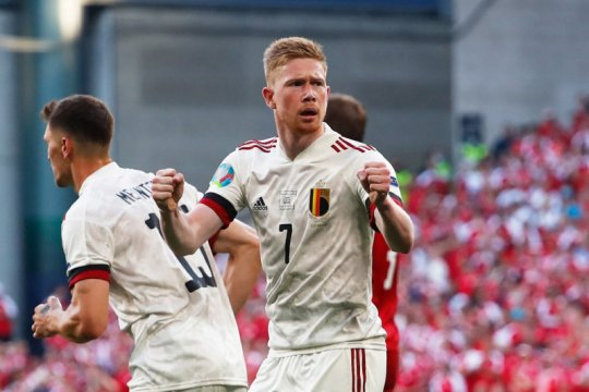 Susunan pemain Belgia vs Finlandia: Hazard, de Bruyne, Witsel main